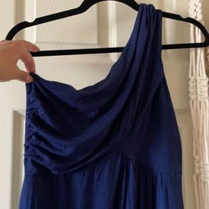 Gilli jersey asymmetrical dress
